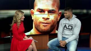 UFC 209: Alistair Overeem on Fight with Mark Hunt