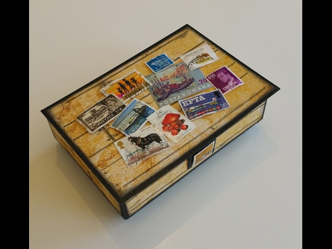 A Gift Box For A Young Stamp Collector