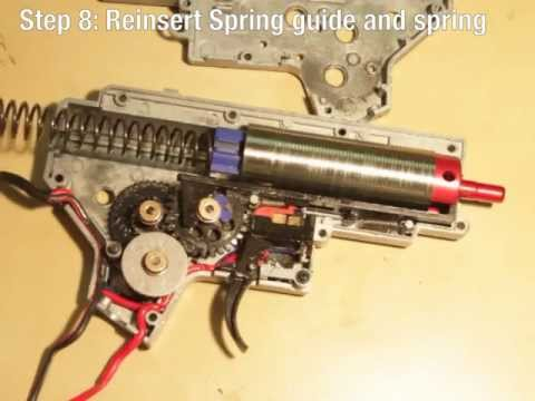 G&G Combat Machine M4 Gearbox Disembly and Reembly on