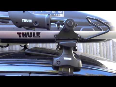 Thule Sidearm Bike Rack Installation Instructions Youtube