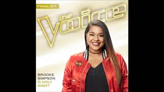 Brooke Simpson O Holy Night Studio Version The Voice 13