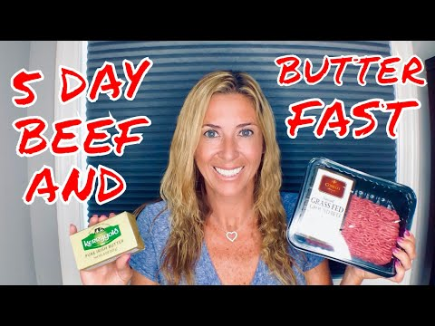 5 DAY BEEF AND BUTTER FAST