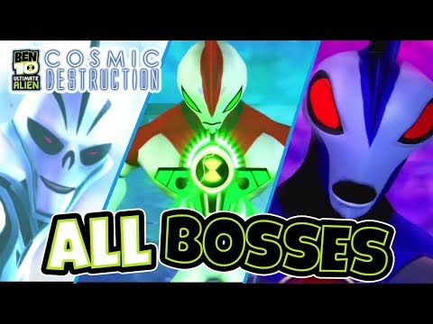 Ben 10 Ultimate Alien: Cosmic Destruction All Bosses (PS3, X360, PS2, PSP, Wii)