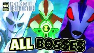 Ben 10 Ultimate Alien: Cosmic Destruction All Bosses   Final Boss (PS3, X360, PS2, PSP, Wii)