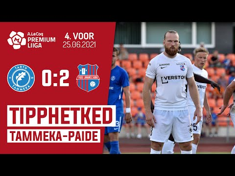 Tammeka Tartu Paide Linnameeskond Goals And Highlights