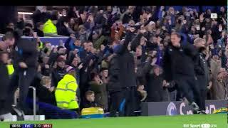 Duncan Ferguson & David Unsworth Goal Celebration
