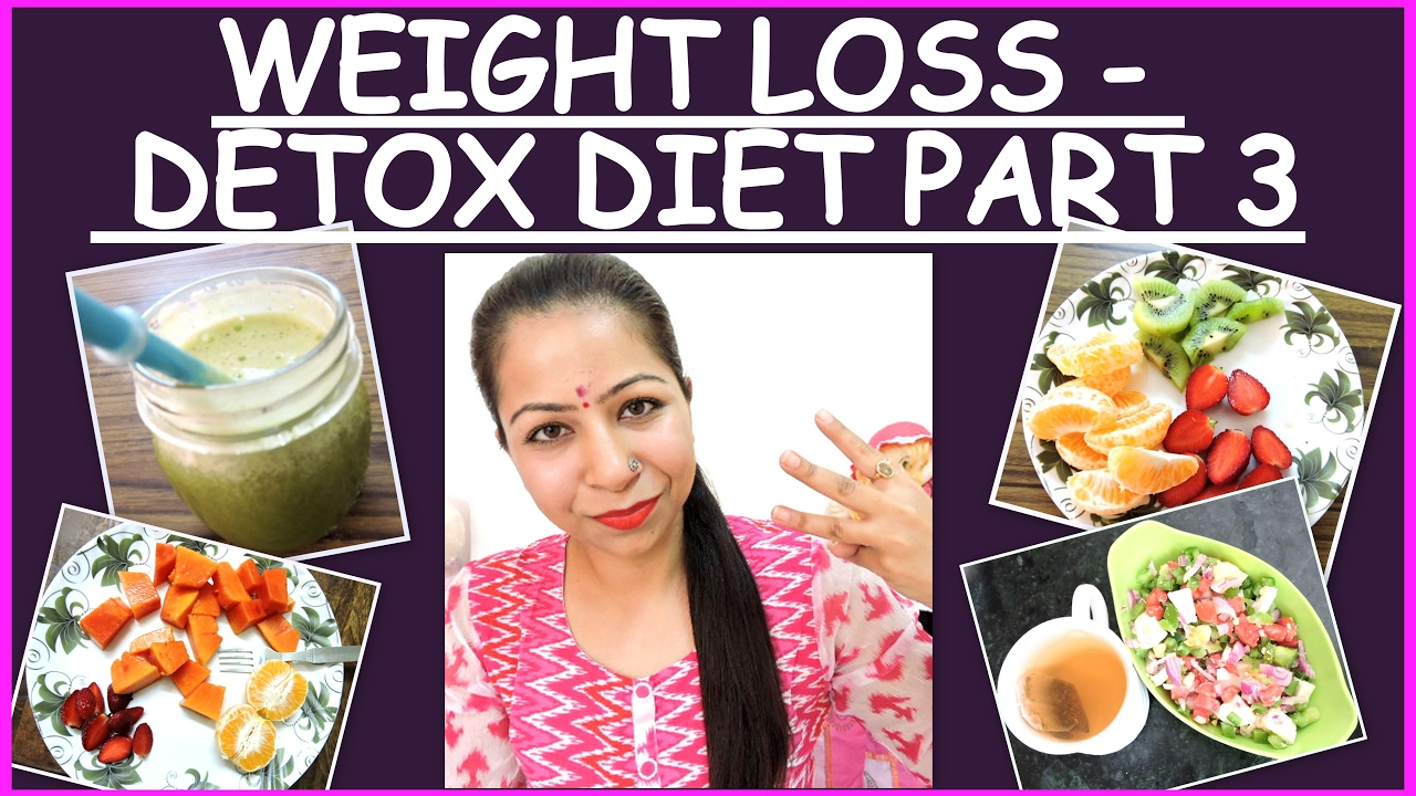 how to make detox for weight loss