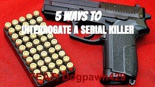 5 WAYS TO INTERROGATE A SERIAL KILLER   Skit — [RTC]