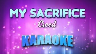 My Sacrifice - Creed (Karaoke version with Lyrics)