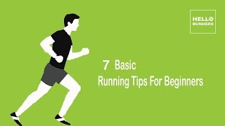 Running Tips For Beginners -  7 Basic Running Tips For Beginners.