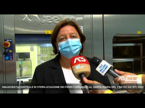 INAUGURATA CENTRALE DI STERILIZZAZIONE DEI FERRI CHIRURGICI AL SANTA MARIA DEL PRATO | 22/07/2021