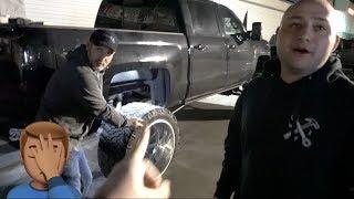 he-hit-his-truck-at-a-truck-meet-duramax-prerunner-and-other-cool-trucks