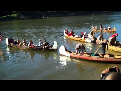 Feast of the Hunters' Moon  2010  Voyageur Canoe Landing