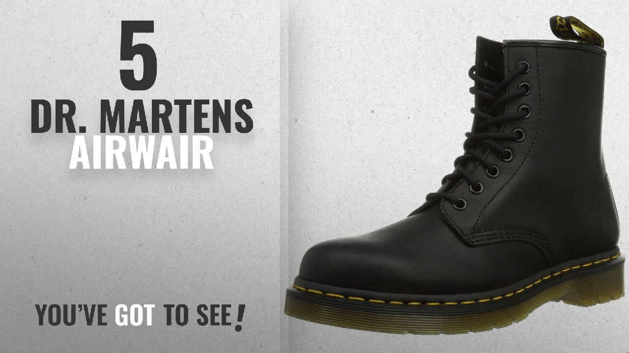 b0744f914 Top 5 Dr. Martens Airwair [2018]: Dr. Martens 1460 8 Eye Boot,Black ...