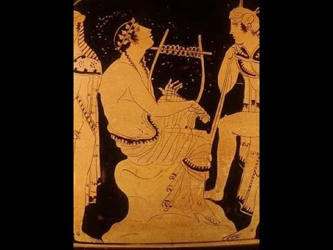 Image result for greek playing lyre