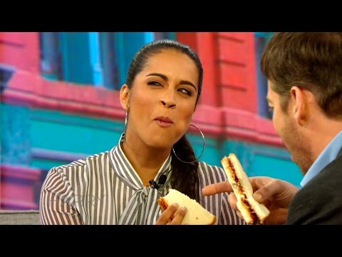 Lilly Singh Tries A PB&J Sandwich FOR THE FIRST TIME!