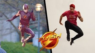 Stunts From The Flash In Real Life (Parkour)