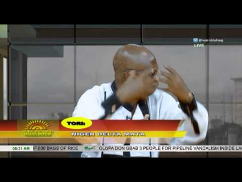 GUDU MORNING NAIJA - Money Wey Former Lagos State Gov Use Reconstruct Website (Pt.3)   Wazobia TV