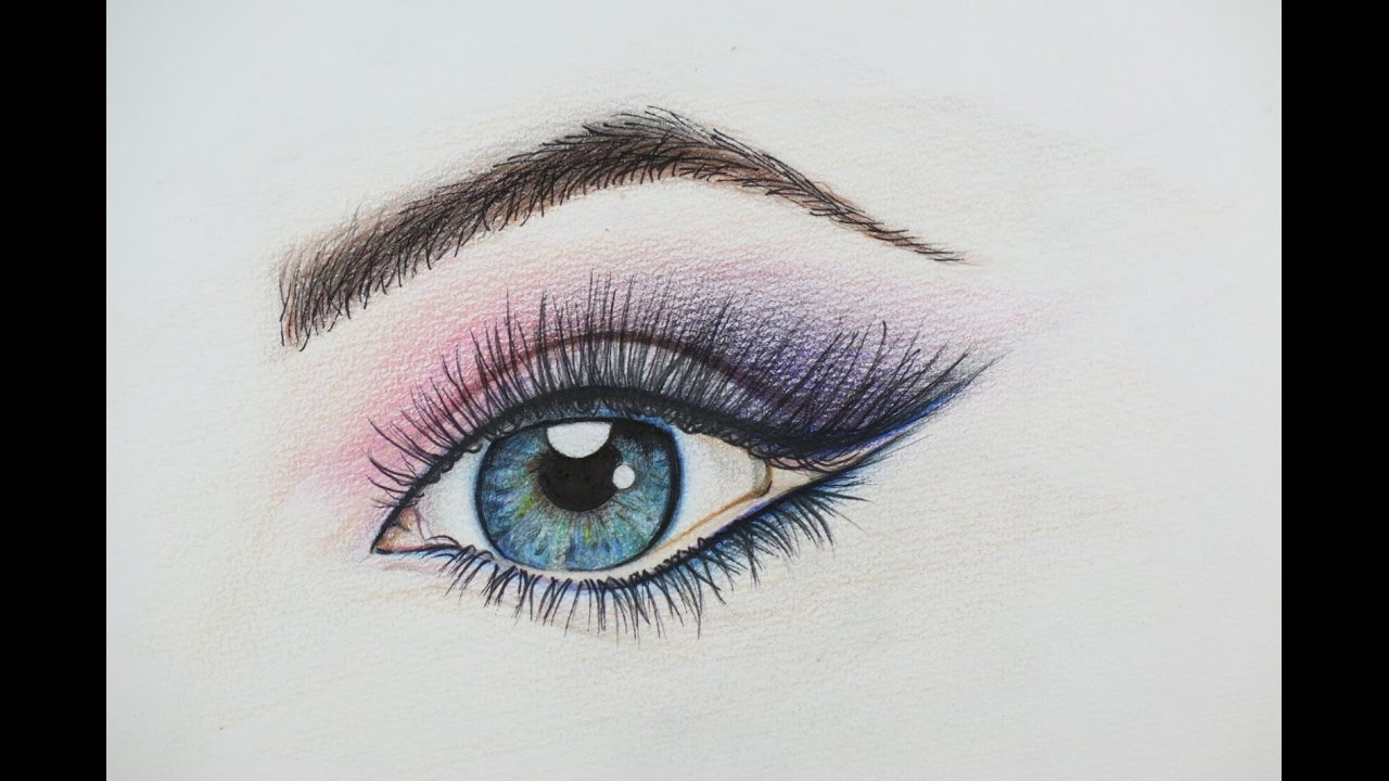 Diy beautiful eye drawing how to draw an eye amazing for Beautiful images to draw