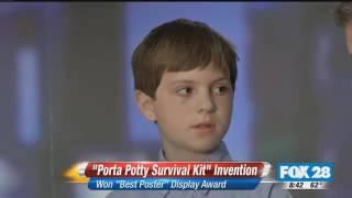 Joshua McKenna: Porta Potty Survival Kit