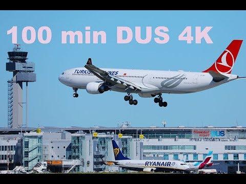 100 MIN Plane Spotting at Dusseldorf Airport DUS Variety ...  100 MIN Plane S...