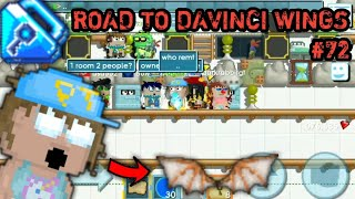 BIG PROFIT! BFG PROFIT 600.000 CHANDELIER EPS 1 | Road to Davinci Wings #72 | Growtopia