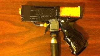 """cz-75"" Homemade Full Auto Airsoft Gun"