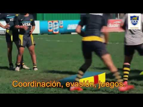Rugby Infantil ejercicios