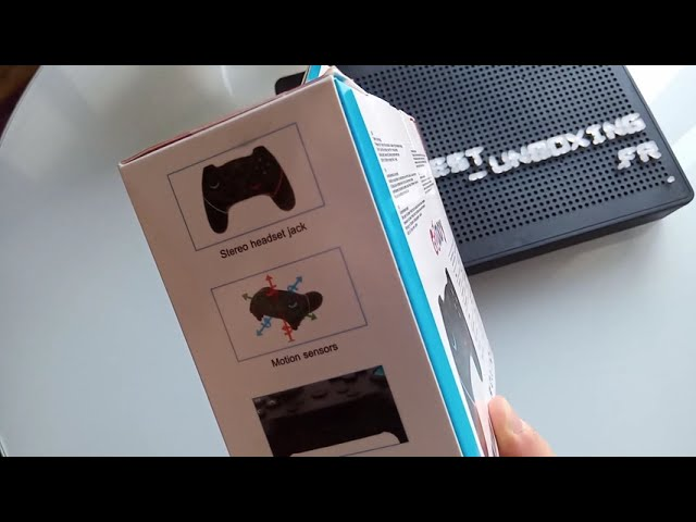 Gamory Wireless Controller for Switch - Unboxing
