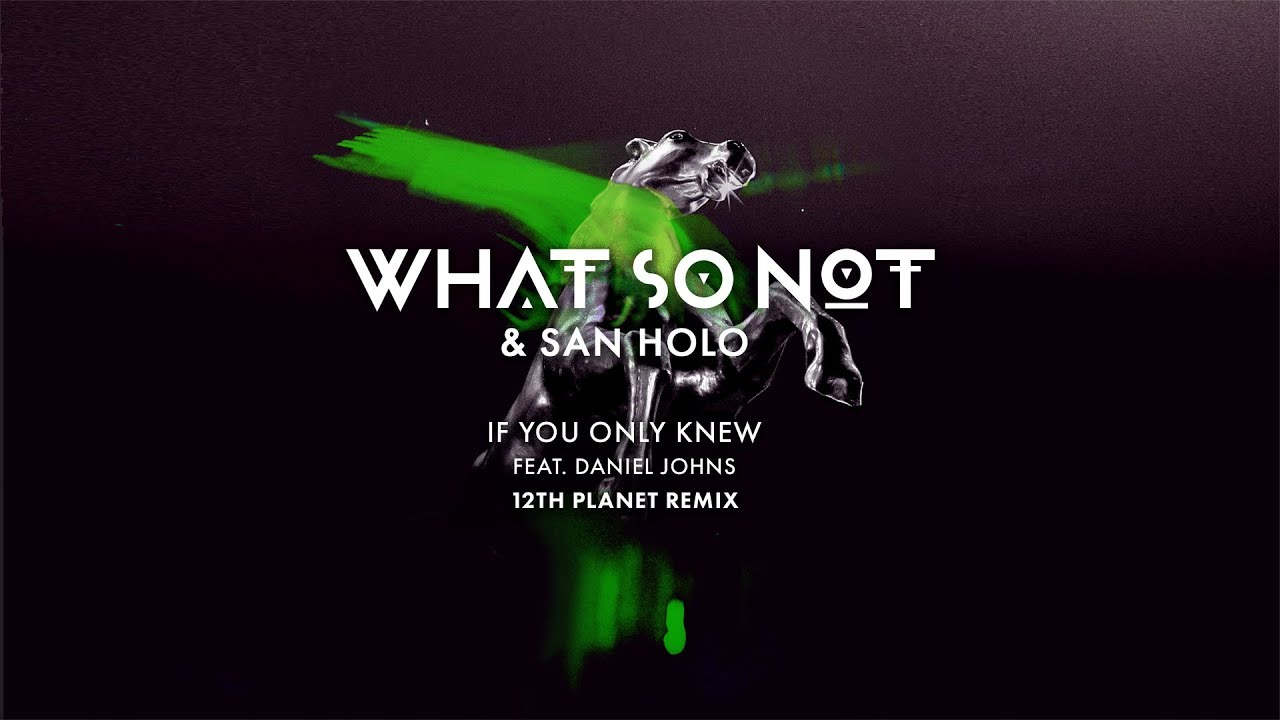 Download What So Not & San Holo - If You Only Knew (feat. Daniel Johns) (12th Planet Remix)