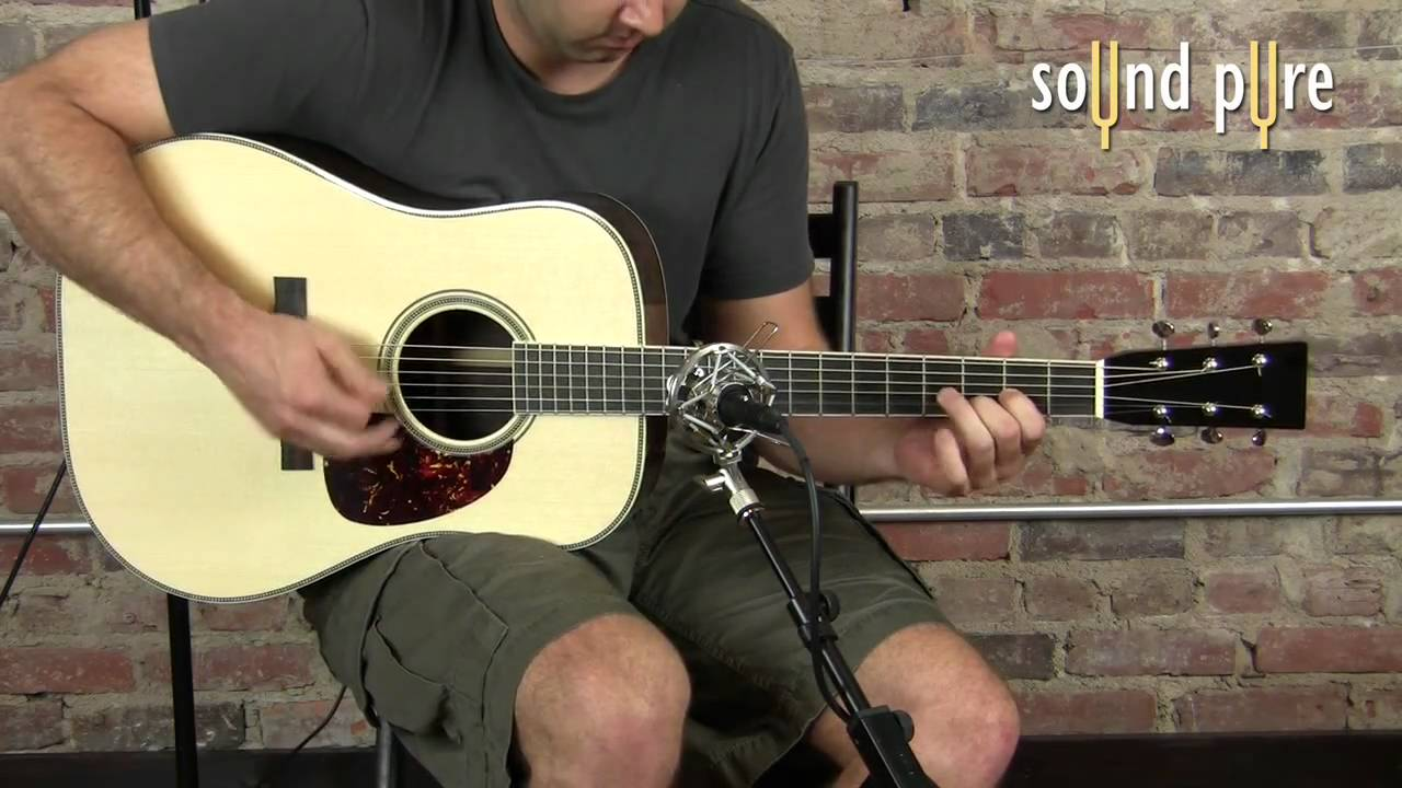 Avalon Ad2022 Mic Preamp Demo Video Acoustic Guitar Youtube