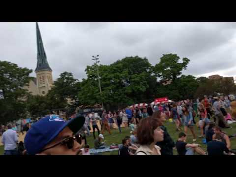Band at Pitchfork 2016