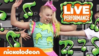 Download JoJo Siwa Performs 'High Top Shoes' 👟  SlimeFest   Nick Mp3 and Videos