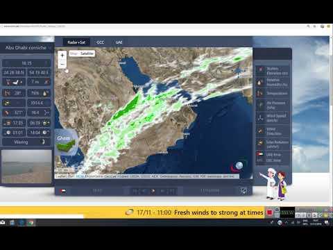 Rain in UAE expected.
