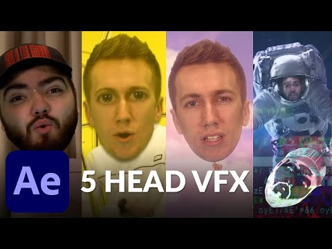 5 Mind Blowing Head VFX in After Effects - Helium Song Tutorial