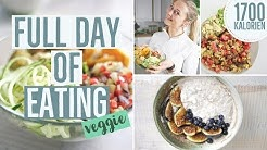 FULL DAY OF EATING 🥑 | 1700 Kalorien Diät | IIFYM Food Diary zum Abnehmen vegetarisch