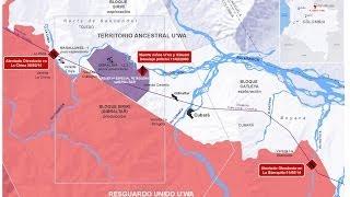 El lío de los indígenas U´wa con la petrolera colombiana