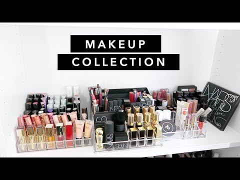 Makeup Collection 2016 | Vanity, Storage and Organisation | Beauty.Life.Michelle