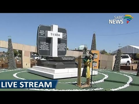 Wreath laying ceremony at the OR Tambo grave site