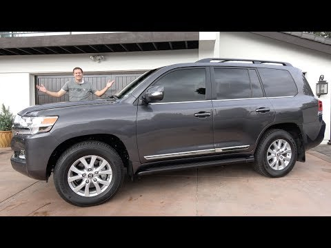 Here's Why the 2018 Toyota Land Cruiser Costs $85,000