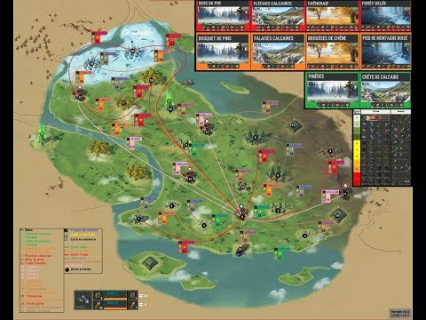 Last day on earth la Carte global V2.0.Marche, énergie, essence + ressources des zones.