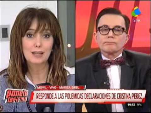 Marisa Brel se quebró al discutir con Yanina Latorre