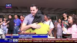 Penyanyi Tommy Page Tiba di Indonesia