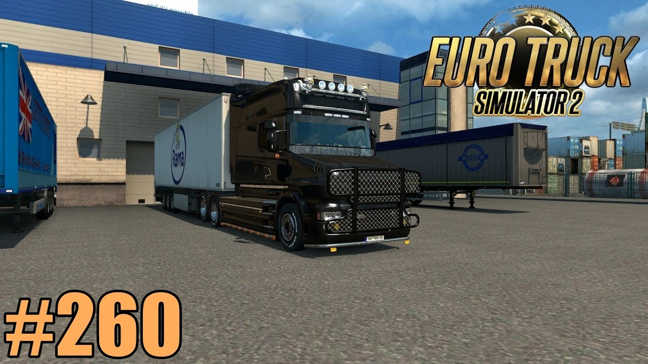 Euro Truck Simulator 2 260 Oldschool Trucks Fullhd German