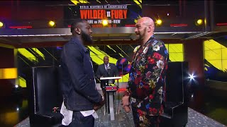 Wilder and Fury Faceoff today in Los Angeles | Wilder Fury 2 Press Conference