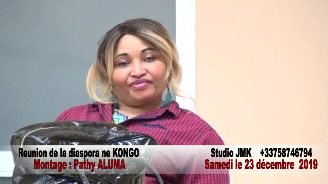 Réunion de la Diaspora NE KONGO à Paris avec l'Adg LUTETE LUAKANDA Carlos.