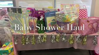 BABY SHOWER HAUL Pt.1 of 2