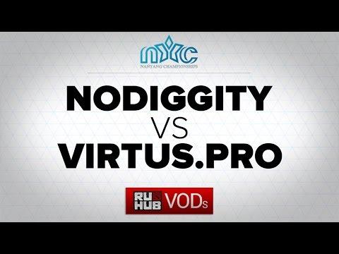 No Diggity -vs- Virtus.pro, NanYang D2 Chamionships s.2, Group B, game 2