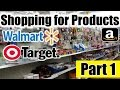 Shopping for Products at Walmart and Target Part 1 Amazon FBA