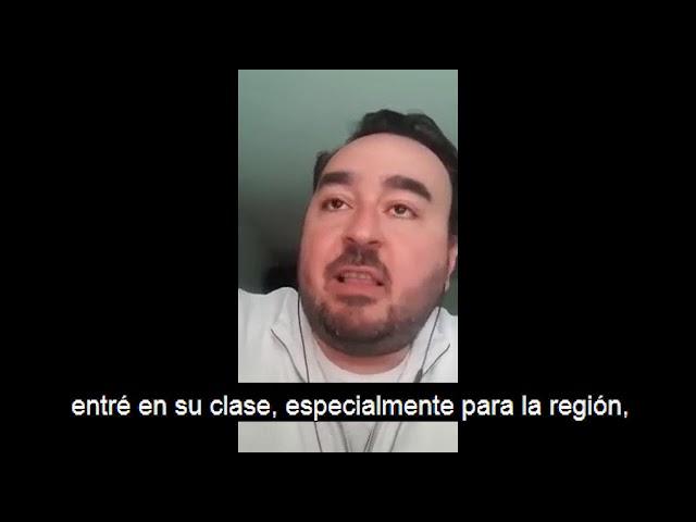 Victor M  Testimonio Subtitulado en Español